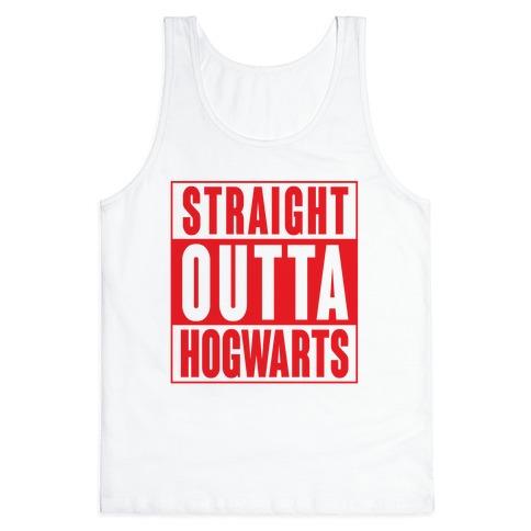 Straight Outta Hogwarts Tank Top