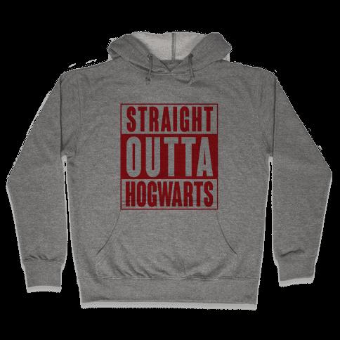 Straight Outta Hogwarts Hooded Sweatshirt