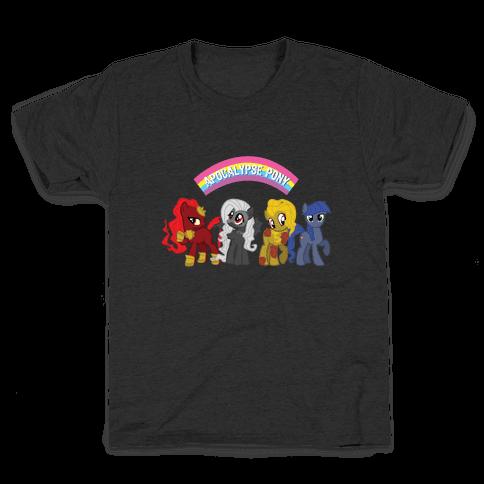 Apocalypse Pony Kids T-Shirt