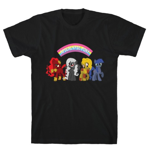 Apocalypse Pony Mens T-Shirt