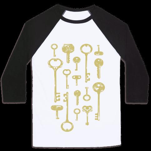 Keys Baseball Tee