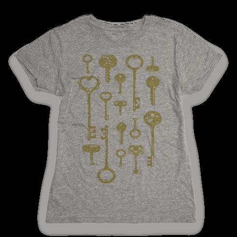 Keys Womens T-Shirt