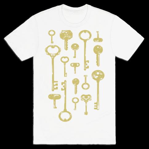 Keys Mens T-Shirt