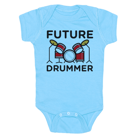 Drummer of the Future Baby Onesy