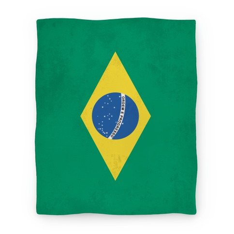 Flag of Brazil Blanket Blanket