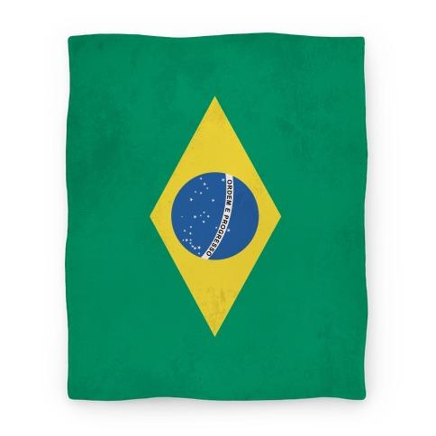 Flag of Brazil Blanket Blanket