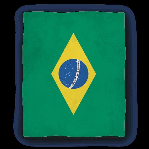 Flag of Brazil Blanket