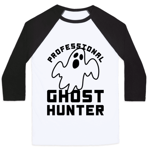Professional Ghost Hunter Baseball Tee