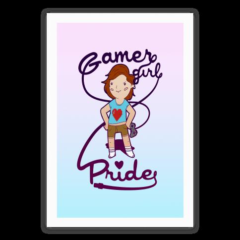 Gamer Girl Pride Poster