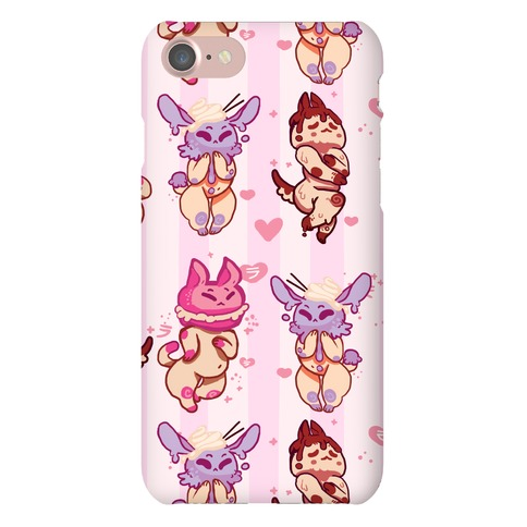 Kawaii Chibi Desserts Phone Case