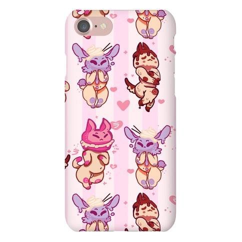 Kawaii Chibi Desserts Phone Case