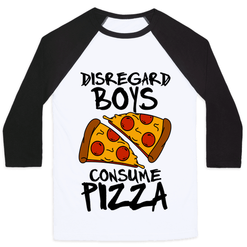 Disregard Boys Consume Pizza