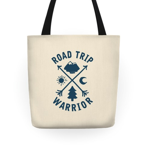 Road Trip Warrior Tote