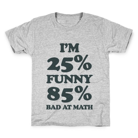 Funny/Math Ratio Kids T-Shirt