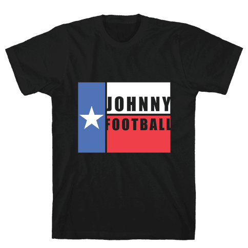 Texas Johnny Football Mens T-Shirt