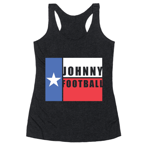 Texas Johnny Football Racerback Tank Top
