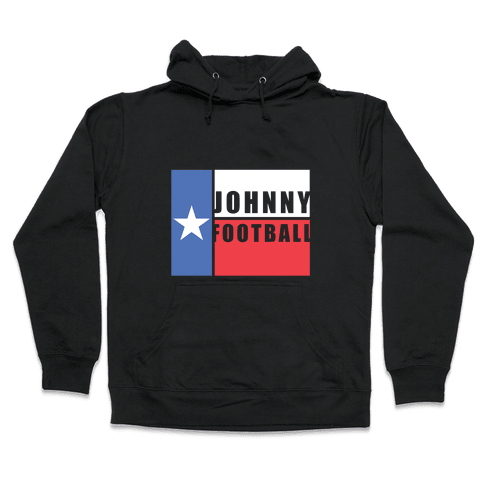 Texas Johnny Football Hooded Sweatshirt