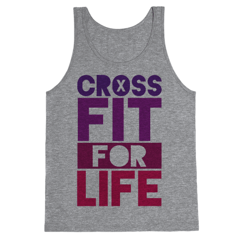 CrossFit For Life Tank Top