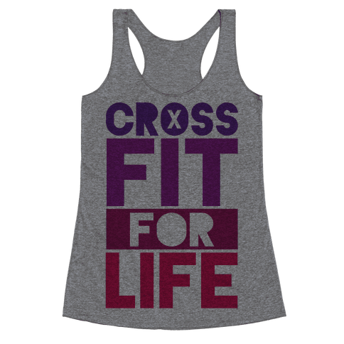 CrossFit For Life Racerback Tank Top