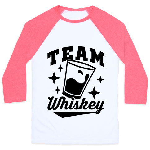 Team Whiskey Baseball Tee