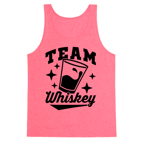 Team Whiskey Tank Top