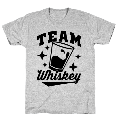 Team Whiskey Mens T-Shirt