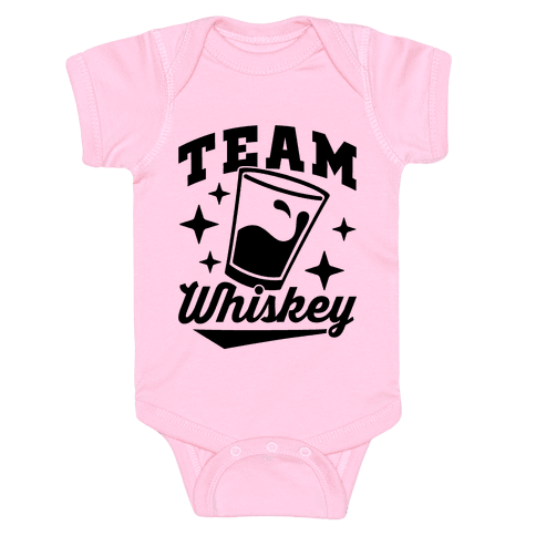 Team Whiskey Baby Onesy