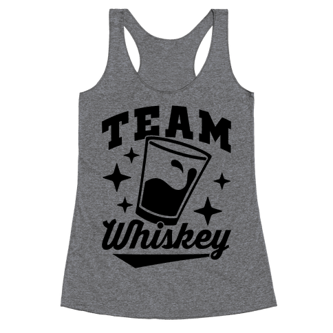 Team Whiskey Racerback Tank Top