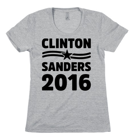 Clinton Sanders 2016 Womens T-Shirt