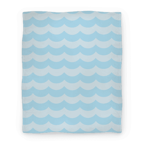 Waves Pattern Blanket
