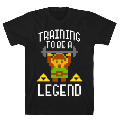 Training To Be A Legend Mens T-Shirt