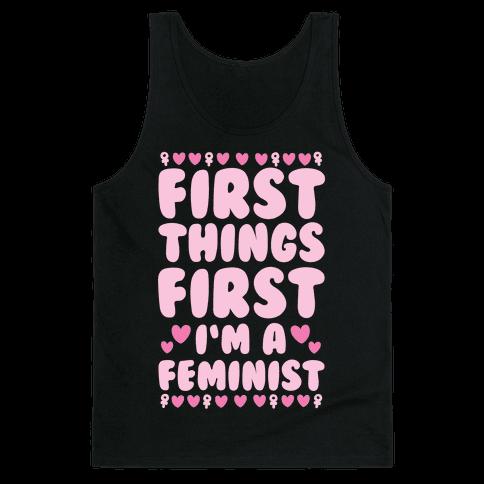 Fancy Feminist Tank Top
