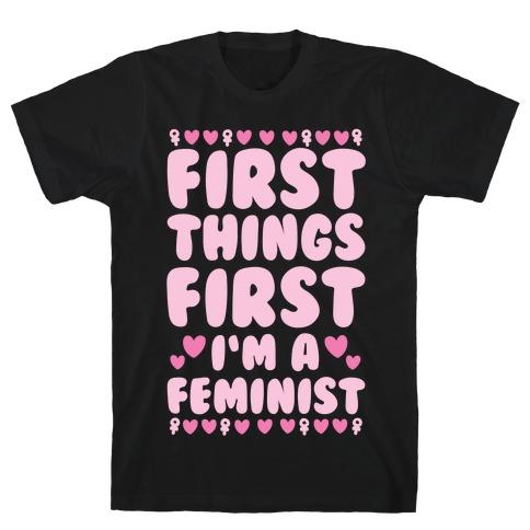 Fancy Feminist T-Shirt