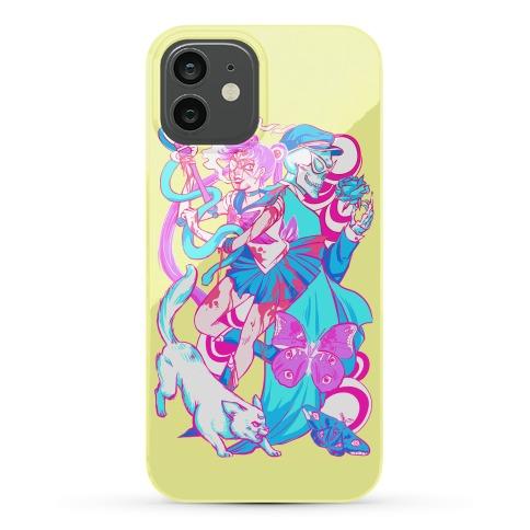 Rainbow Horror Senshi Parody Phone Case