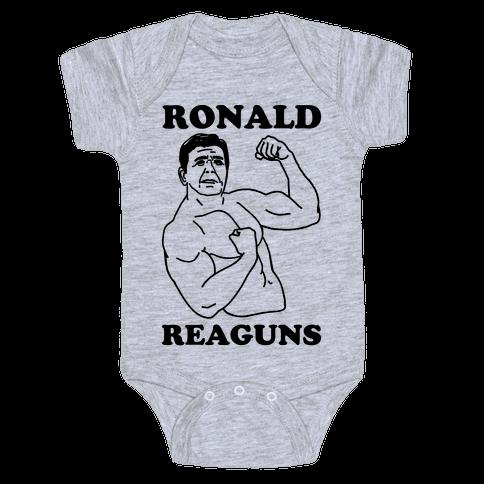 Ronald Reaguns Baby Onesy
