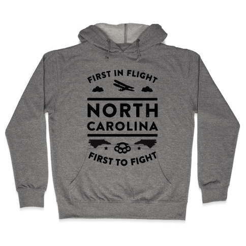 North Carolina Fight and Flight Hooded Sweatshirt