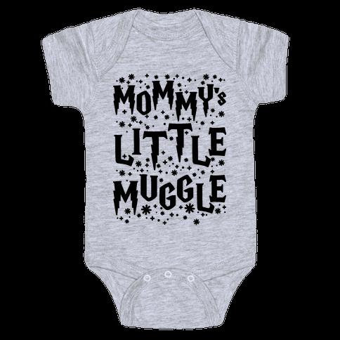 Mommy's Little Muggle Baby Onesy