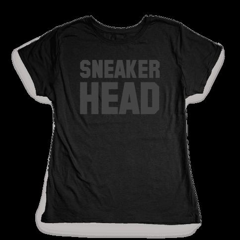 Sneaker Head Womens T-Shirt