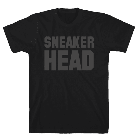 Sneaker Head Mens T-Shirt