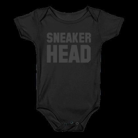 Sneaker Head Baby Onesy