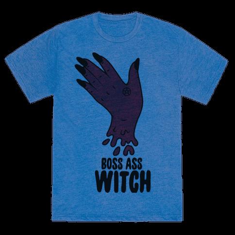 Boss Ass Witch - TShirt - HUMAN