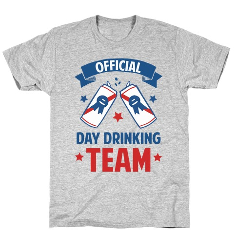 Official Day Drinking Team T-Shirt