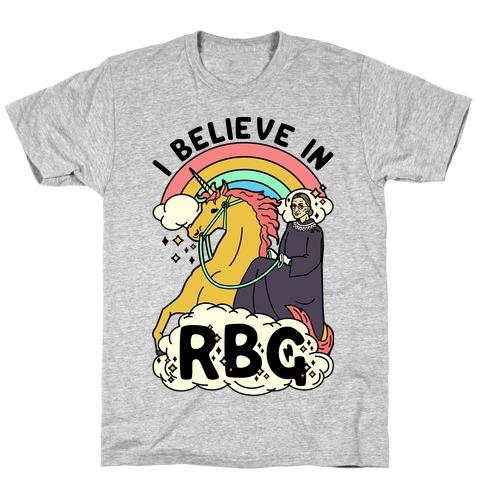 Ruth Bader Ginsburg on a Unicorn T-Shirt