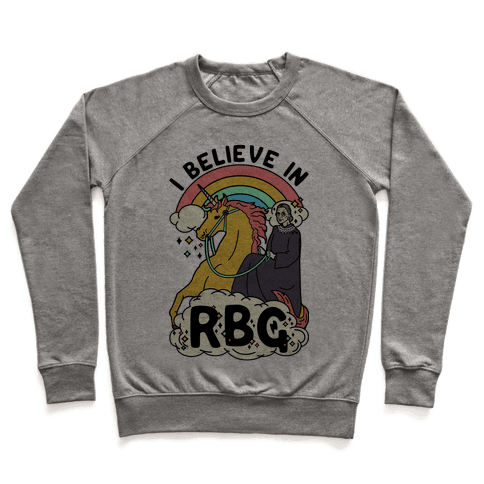 Ruth Bader Ginsburg on a Unicorn Pullover
