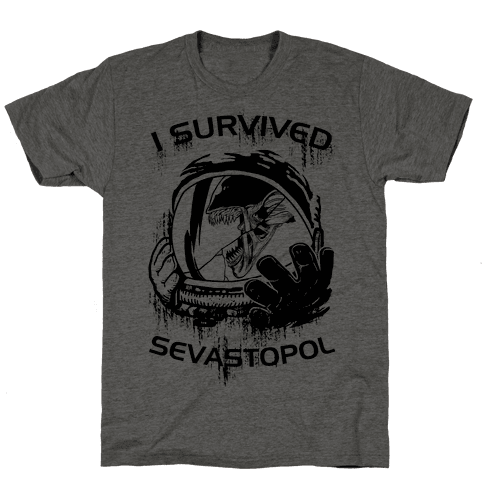 I Survived Sevastopol Mens T-Shirt