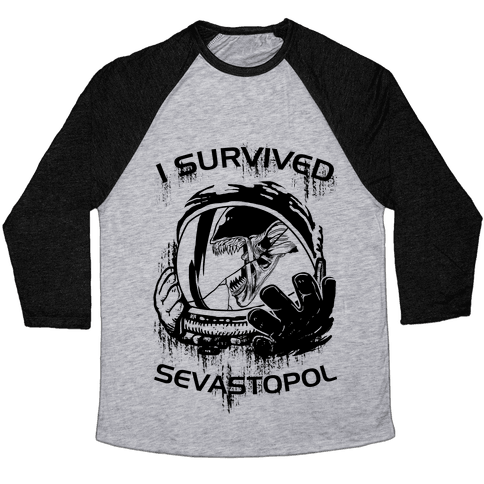 I Survived Sevastopol Baseball Tee