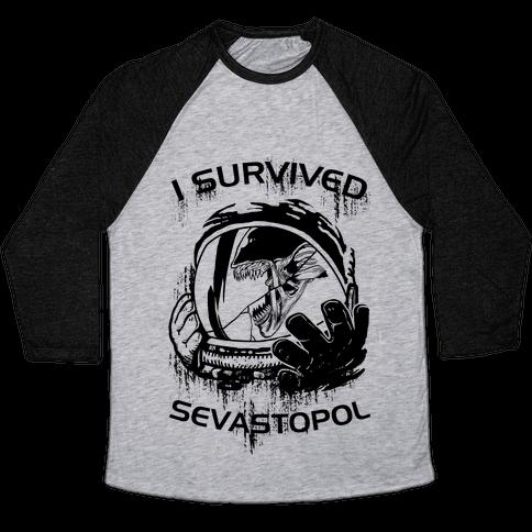 I Survived Sevastopol Baseball Tee