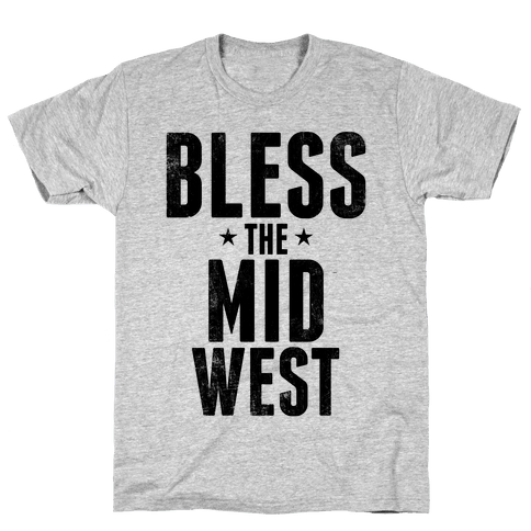 Bless The Midwest Mens T-Shirt