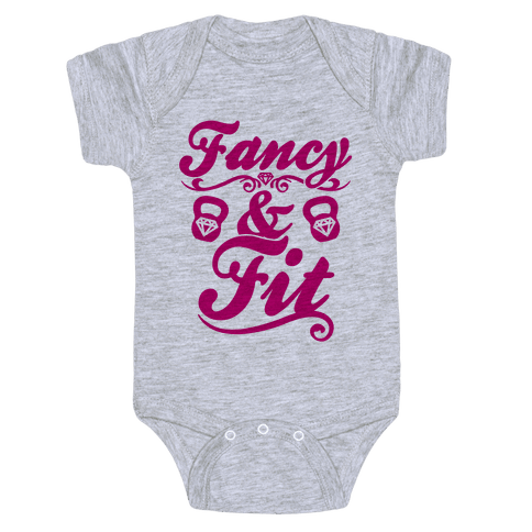 Fancy And Fit Baby Onesy