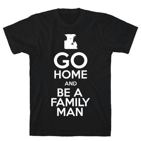 Go Home Mens T-Shirt
